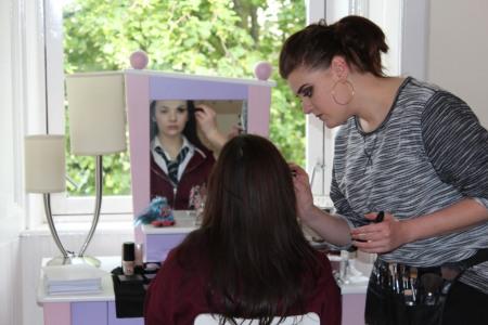 Deirdre Flanigan - Hair/Makeup Artist.