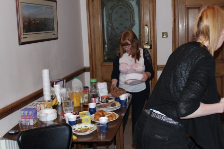 Katrina Lennox and Louise Creighton - Catering.